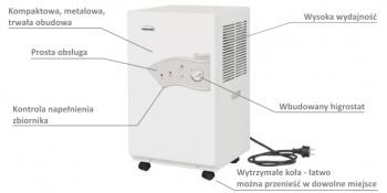 Osuszacz powietrza DH 721